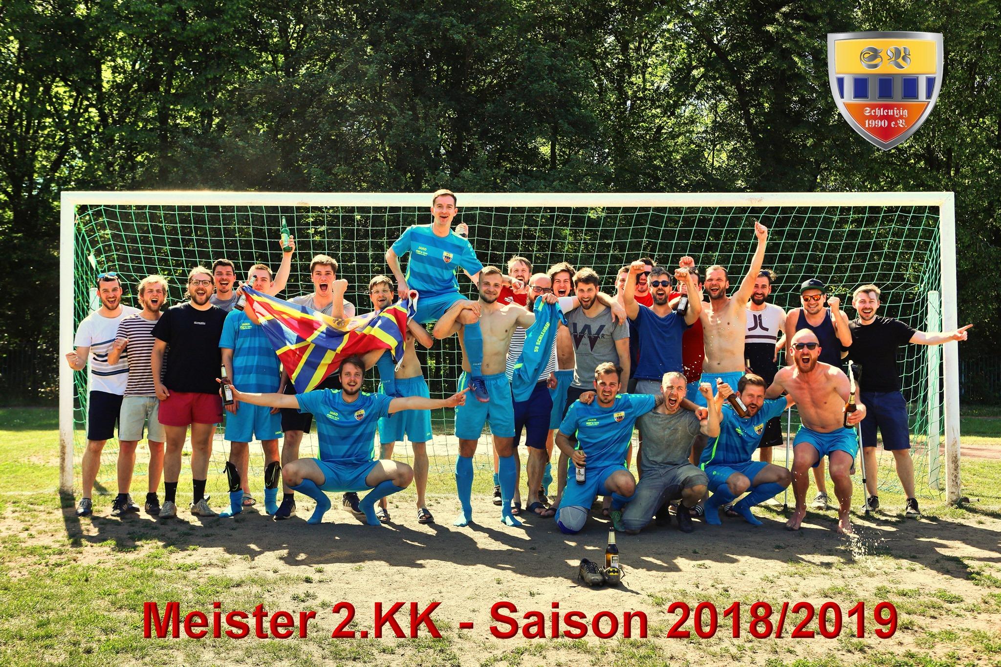 2. Herren: Meister 2.KK 2018/2019